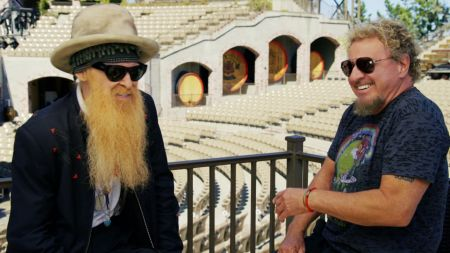 Sammy Hagar rolls through California to rock with Billy Gibbons on 'Rock & Roll Road Trip,' April 2 on AXS TV