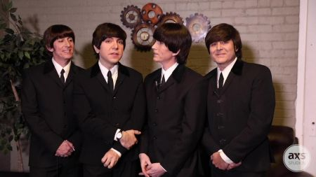 Watch: The Fab Four talk bringing the look, music, and feel of The Beatles to life