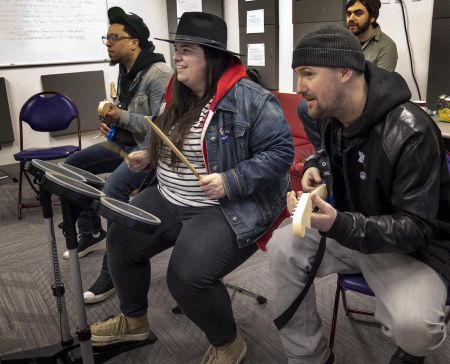 Boston's local musicians are getting their music featured in the 'Rock Band' video game franchise