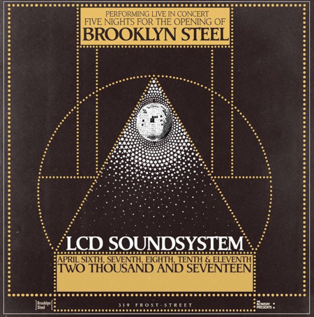 NYC's newest venue Brooklyn Steel opens April 6 with a five-night stand from LCD Soundsystem