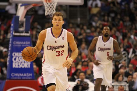 Star forward Blake Griffin of the Los Angeles Clippers may switch locker rooms at the STAPLES Center.