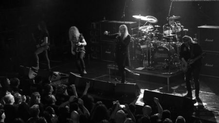 Saxon, UFO invade Cleveland's House of Blues