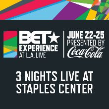 BET Experience at L.A. LIVE tickets at STAPLES Center in Los Angeles