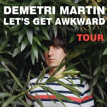 Demetri Martin tickets at The Folly Theater in Kansas City