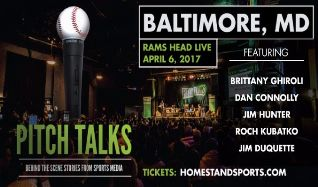 Pitch Talks tickets at Rams Head Live! in Baltimore