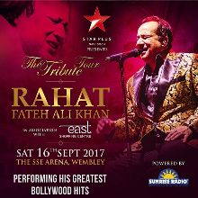 Rahat Fateh Ali Khan tickets at The SSE Arena, Wembley, London