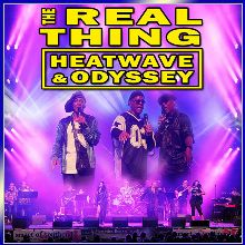 Real Thing, Heatwave & Odyssey tickets at indigo at The O2 in London