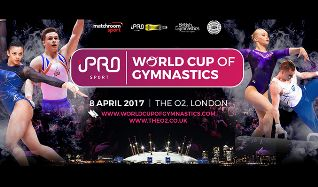 World Cup of Gymnastics tickets at The O2 in London