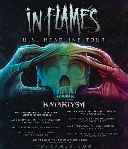 Kataklysm announce U.S. tour with In Flames