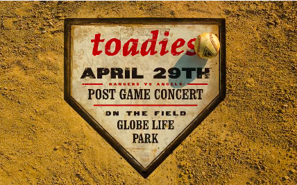 """Alt-rock band The Toadies released a cover of """"Take Me Out To The Ballgame"""" on Wednesday to help get rock and sports fans excited for the re"""