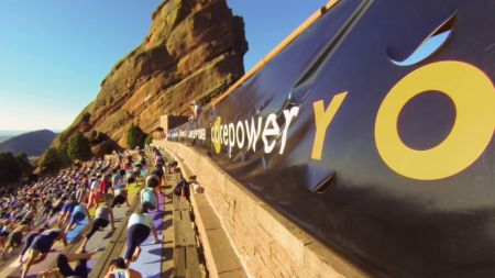 Red Rocks Amphitheater invites you to strike a pose at Yoga on the Rocks