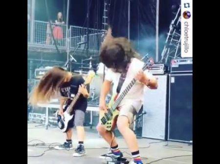 Meet Korn's new 12-year-old bassist