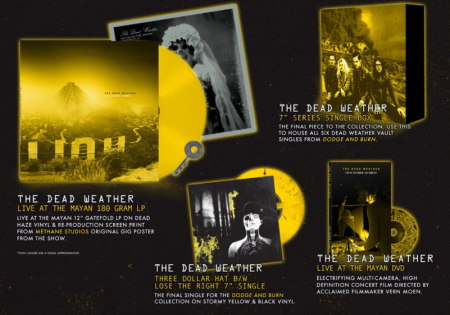 As part of Third Man Records' Vault Subscription Series, the label will release a live album/DVD titled The Dead Weather: Live at the Mayan.