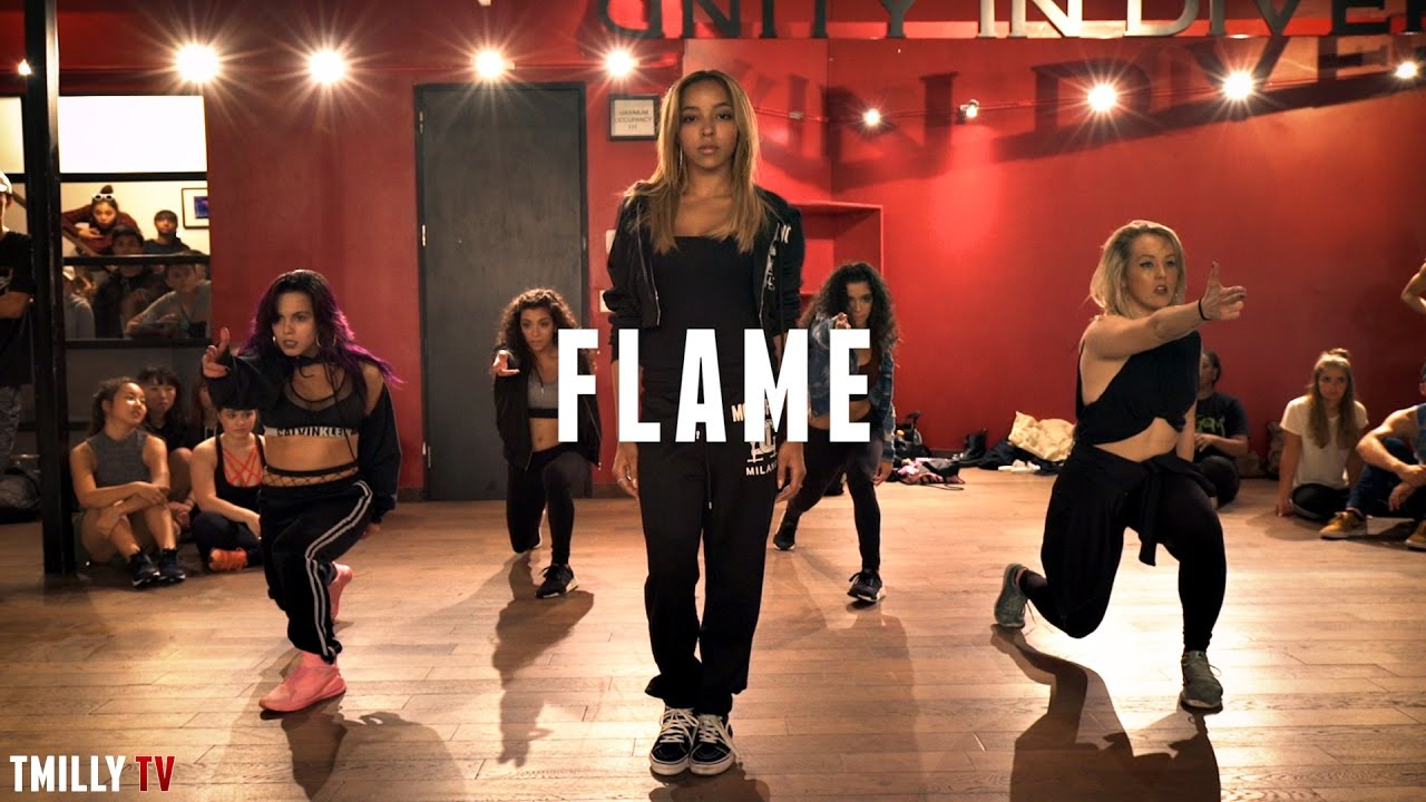 Tinashe performs lit choreography to new single 'Flame'