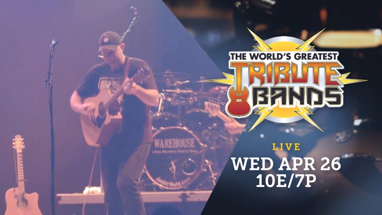 Warehouse, a tribute to Dave Matthews Band will rock Whisky A Go Go April 26 for 'The World's Greatest Tribute Bands' on AXS
