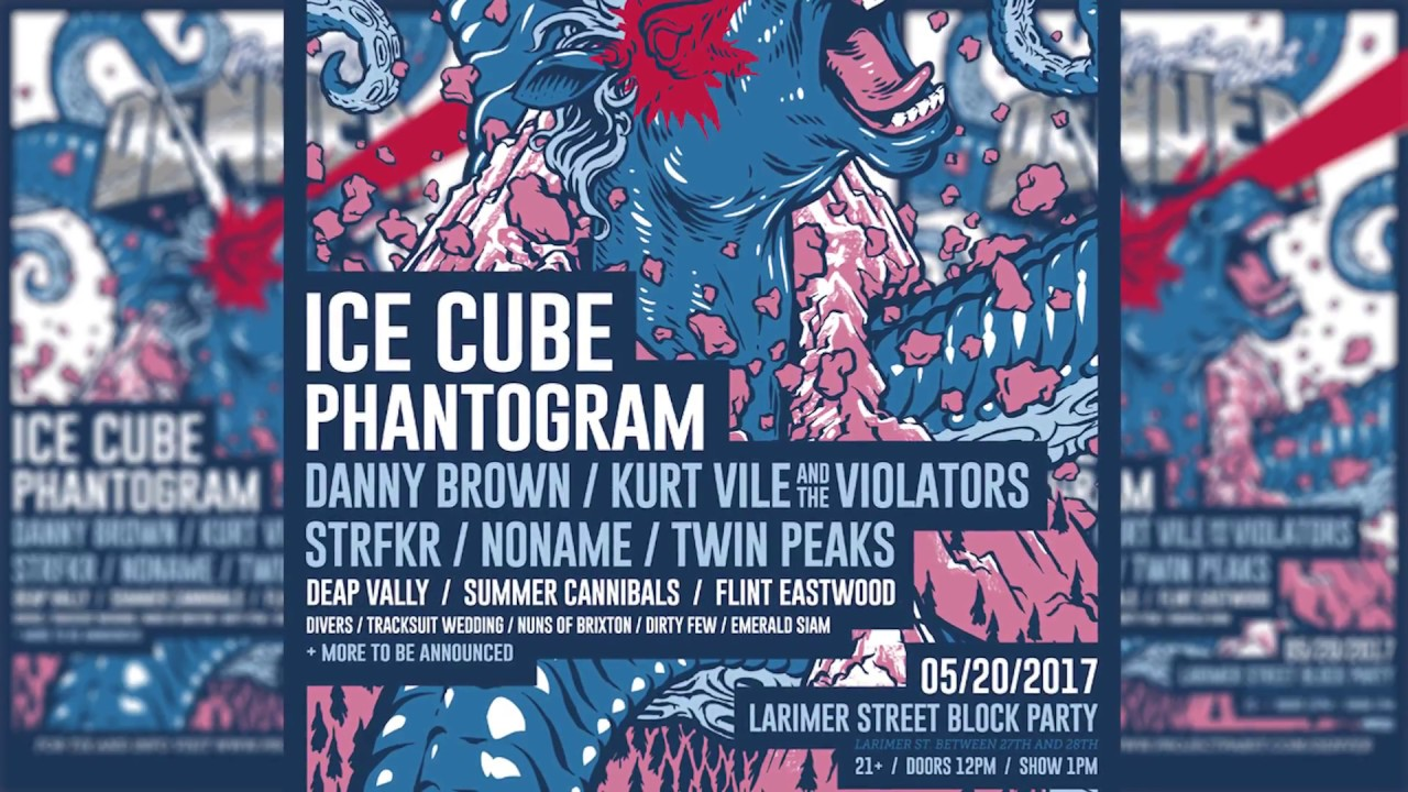 Complete set times and lineup for Project Pabst Denver 2017