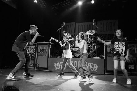 New Found Glory close out their show by getting the future of pop punk in on the action.