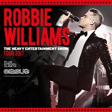 Robbie Williams tickets at TELE2 ARENA/Stockholm Live in Stockholm
