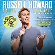 Russell Howard tickets at The Roxy in Los Angeles