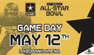 US ARMY ALL STAR BOWL tickets at Rabobank Arena in Bakersfield