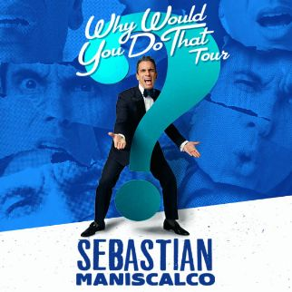 sebastian maniscalco why would you do that   the colosseum
