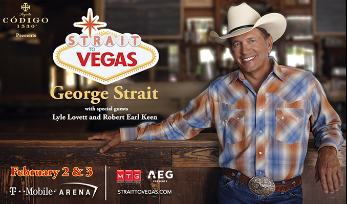 George Strait tickets in Las Vegas at T-Mobile Arena on Fri, Feb 2 ...