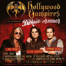 Hollywood Vampires tickets at The Genting Arena in Birmingham
