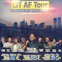 LIT AF TOUR Hosted by Martin Lawrence with... tickets at Capital One Arena in Washington