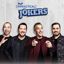 Impractical Jokers tickets at Royal Farms Arena, Baltimore