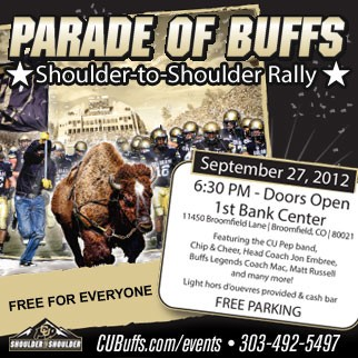 Parade of Buffs Shoulder-to-Shoulder Rally