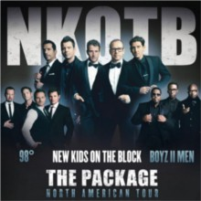 New Kids on the Block, 98 Degrees, and Boyz II Men tickets at Target Center in Minneapolis