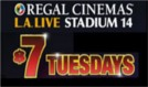 tickets at Regal Cinemas L.A. LIVE Stadium 14 in Los Angeles