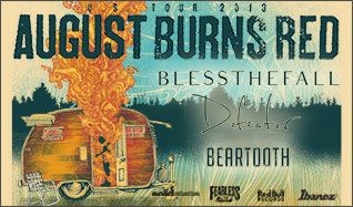August Burns Red tickets at Amos' Southend in Charlotte