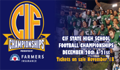 CIF Football tickets at StubHub Center in Carson