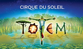 TOTEM by Cirque du Soleil tickets at Under The Big Top at Camden Waterfront in Camden