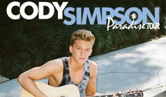 Cody Simpson tickets at DAR Constitution Hall in Washington