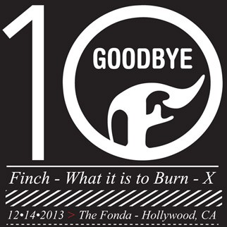 Finch performing What It Is To Burn in its entirety