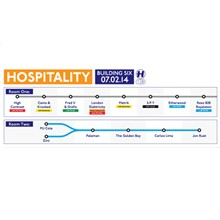 Hospitality tickets at Building Six in London