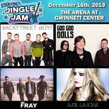 Jingle Jam tickets at The Arena at Gwinnett Center in Duluth