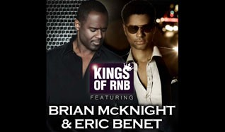Kings of RnB Featuring Brian McKnight and Eric Benét tickets at indigO2 in London