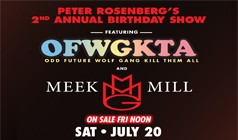 Odd Future and Meek Mill tickets at Williamsburg Park in Brooklyn
