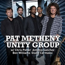 Pat Metheny Unity Group tickets at The Warfield in San Francisco