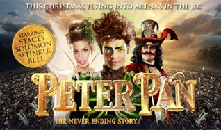 Peter Pan - The Never Ending Story World Arena Tour tickets at Wembley Arena in London