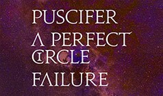 Puscifer,  A Perfect Circle, Failure tickets at The Greek Theatre in Los Angeles