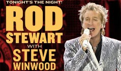 Rod Stewart with Steve Winwood tickets at Bell Centre in Montreal