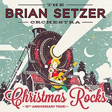 The Brian Setzer Orchestra: Christmas Rocks tickets at The Warfield in San Francisco