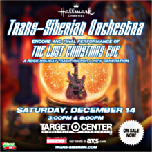 Trans-Siberian Orchestra tickets at Target Center in Minneapolis