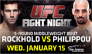UFC Fight Night tickets at The Arena at Gwinnett Center in Duluth