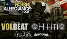Volbeat, HIM, All That Remains, and Airbourne tickets at The Joint at Hard Rock Hotel & Casino Las Vegas in Las Vegas