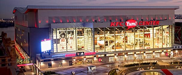 KFC Yum! Center |Kfc Yum Arena